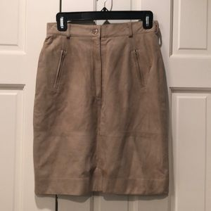Michael kors all suede skirt